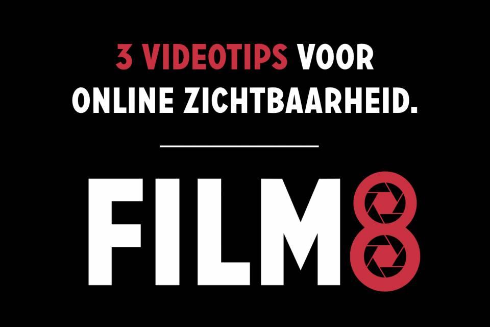 Videotips (3) voor meer online zichtbaarheid